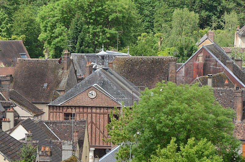 La Halle de Charny dans l'Yonne