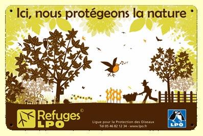 Ici nous protégeons la nature - Refuge LPO