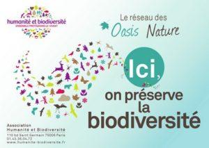 Ici nous préservons la biodiversité - Réseau Oasis Nature