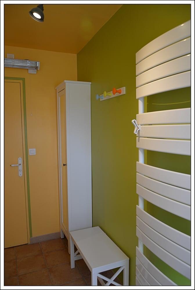 Salle de bain Meuble Banc Sèche serviettes