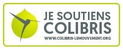 Logo de soutien pour colibris